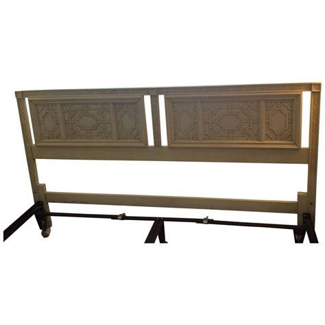 thomasville headboard thomasville headboard vintage king size fretwork chinese