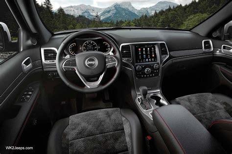 jeep interior 2017 2017 jeep grand cherokee interior pictures www