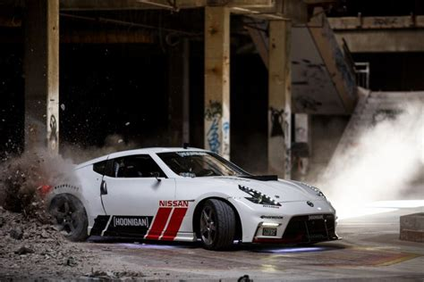 hoonigan nissan video what happens when hoonigans with big power 370zs go