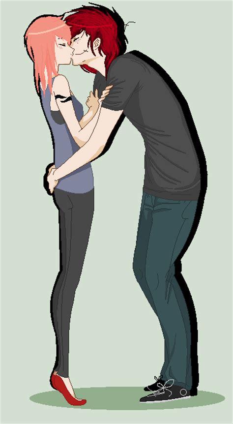 anime couple tall guy short girl every tall guy needs a short girl by sherlockwonderland on