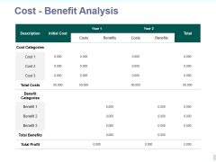 Cost Benefit Analysis Slide Geeks Cost Benefit Analysis Powerpoint Template
