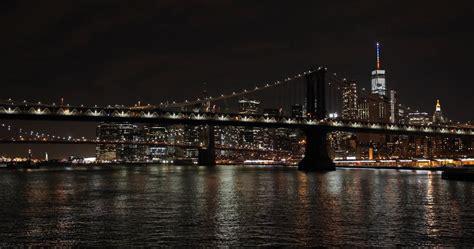 new york city night skyline cruise boat view stock video - Boat Cruise Nyc Night
