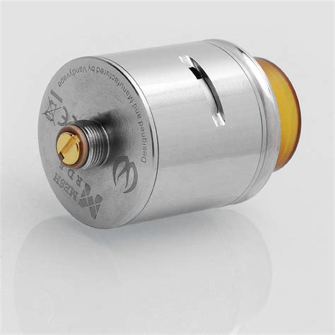 Mesh 24 Rda Atomizer Silver Clone authentic vandy vape mesh rda silver ss 24mm bf