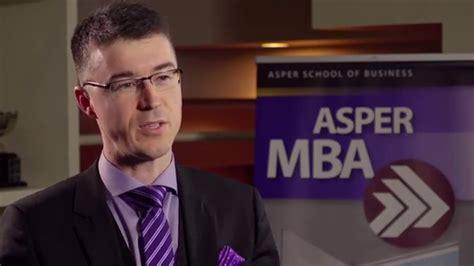 Asper Mba by Asper Mba Grad Testimonial Kirk 2015