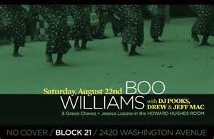 boo house music ra chicago house music legend boo williams at block 21 houston 2009