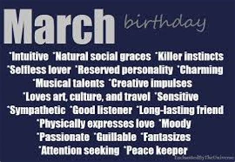 7 fascinating traits of people born in march passnownow