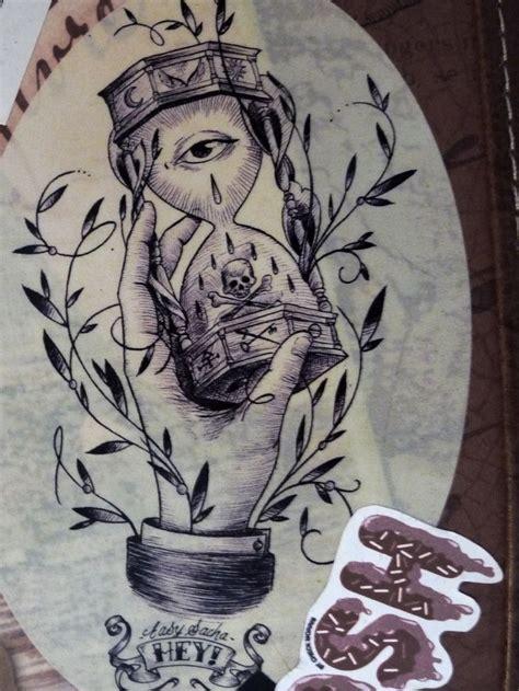tattoo easy sacha f 233 vrier sablier sandglass hourglass eye