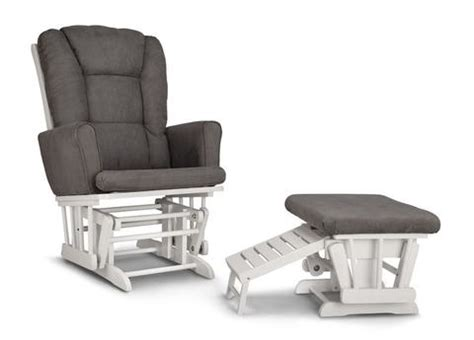 graco sterling semi upholstered glider and nursing ottoman graco 06442 581 sterling semi upholstered glider and