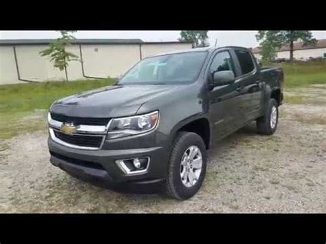 chevy colorado green 2018 chevrolet colorado lt crew cab review