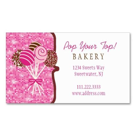 cake decorating business cards templates 442 best images about bakery business cards on