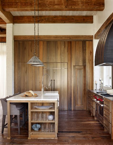 reclaimed wood kitchen cabinets house interior ideas home bunch interior