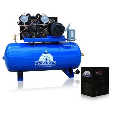 10 hp air compressor 10 hp air compressor with dryer package v4 single phase
