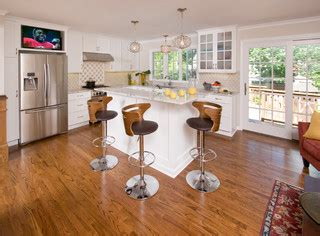 split level ranch kitchen ideas photos houzz kitchen and first floor renovations to a 1960 s split