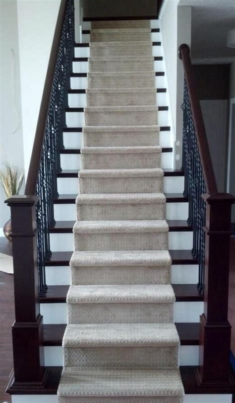 Just Two Fabulous Staircases by Wrought Iron Staircase Carpet Runner On Stairs Our