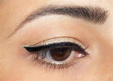 Eye Liner Black makeup black and gold liner