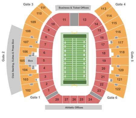 tech stadium seating capacity tech raiders vs west virginia mountaineers