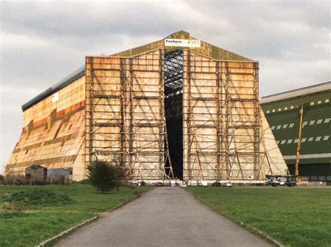 Hangar Shed by Cardington Airship Sheds And Hangars Bedfordshire