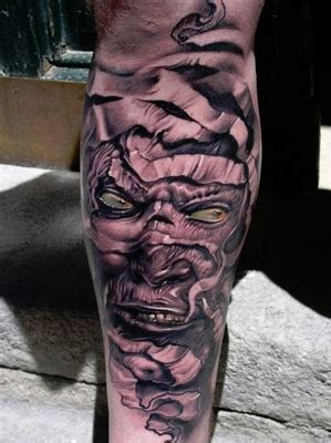 mummy tattoo robert hernandez mummy portrait inky