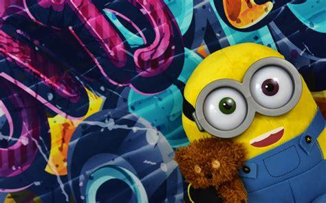 imagenes 4k minions download wallpapers 4k minion graffiti toys minions