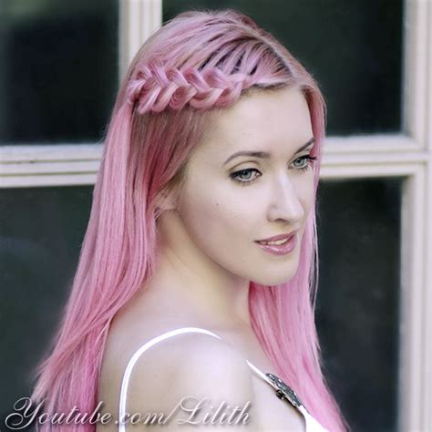 lilith moon hair tutorials lilith moon how to color your hair pink lilith moon