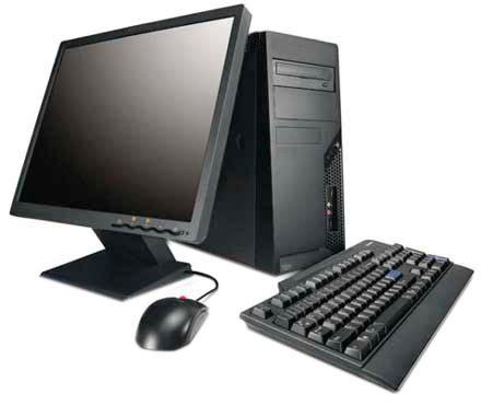 desktop pc in black iq computer services black desktop