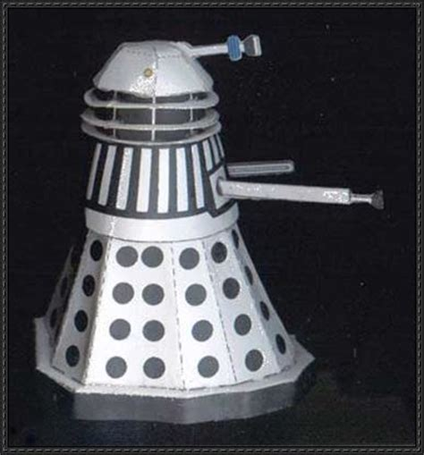 Papercraft Dalek - to the daleks dalek free paper model