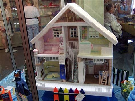 plastic dolls houses plastic canvas doll house plastic canvas barbie