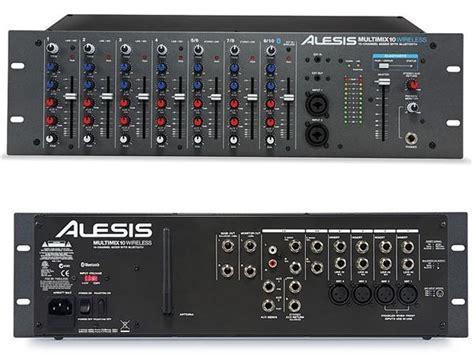 Stereo Master Mixer alesis multimix 10 wireless mixer audio da rack con bluetooth