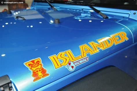 jeep islander logo 2010 jeep wrangler islander edition image