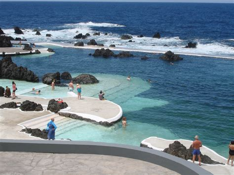 porto moniz madeira porto moniz pools madeira island portugal