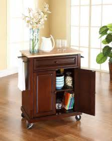 Large Portable Kitchen Island by Crosley Portable Kitchen Cart Island By Oj Commerce 252