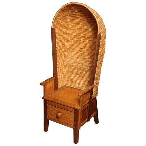 Orkney Chair by Hooded Orkney Chair At 1stdibs