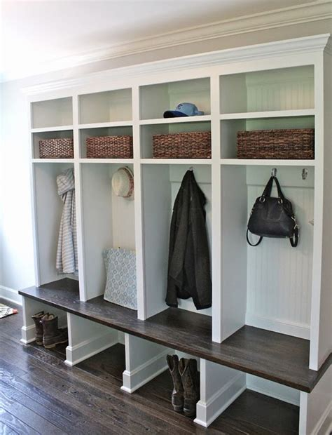 Mudroom Storage Ideas | 32 small mudroom and entryway storage ideas shelterness
