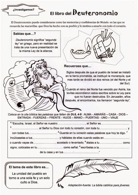 preguntas biblicas para niños del libro de genesis el rinc 243 n de las melli el libro del deuteronomio
