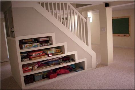 Basement Bedroom Storage Ideas Attic Conversion Staircase Storage House Designs