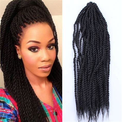 pretwisted senegalese crochet hairstyles box braids hair crochet 18 crochet hair extensions