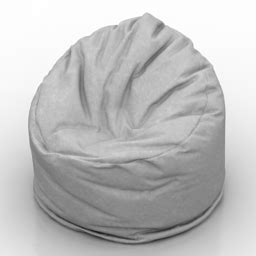 Bag Chair 3d Model quot bag chair quot interior collection 3d models bag chair 1