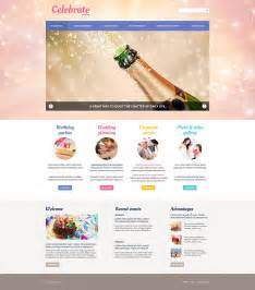 event organisation template 33 event planning website themes templates free