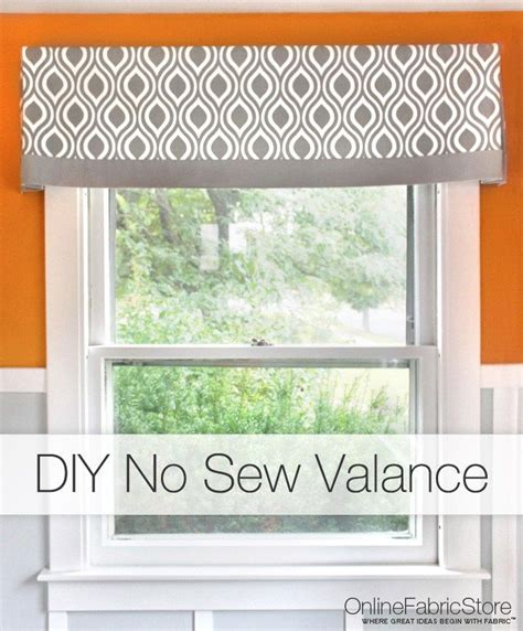 how to make simple curtains without a sewing machine best 20 valance tutorial ideas on pinterest valances