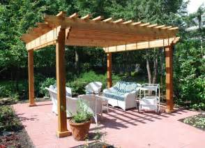 Cedar Pergolas by Gallery For Gt Cedar Log Pergola