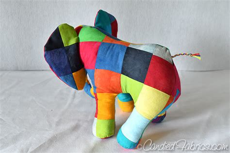 The Patchwork Elephant - introducing elmer the dyed patchwork elephant