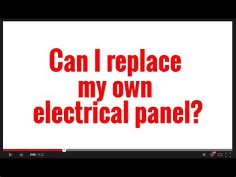 can i my own service overhead electrical panel meter service change part doovi