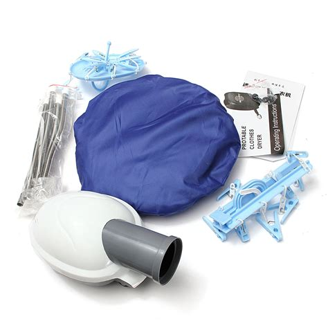 Portable Hair Dryer Bag 800w portable electric air clothes dryer folding fast