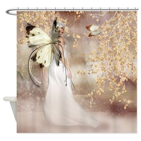 fairy shower curtains fantasy fairy imbolc spirit shower curtain by moonlakedesigns