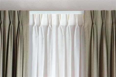 double traverse curtain rod double traverse rod client ideas options pinterest