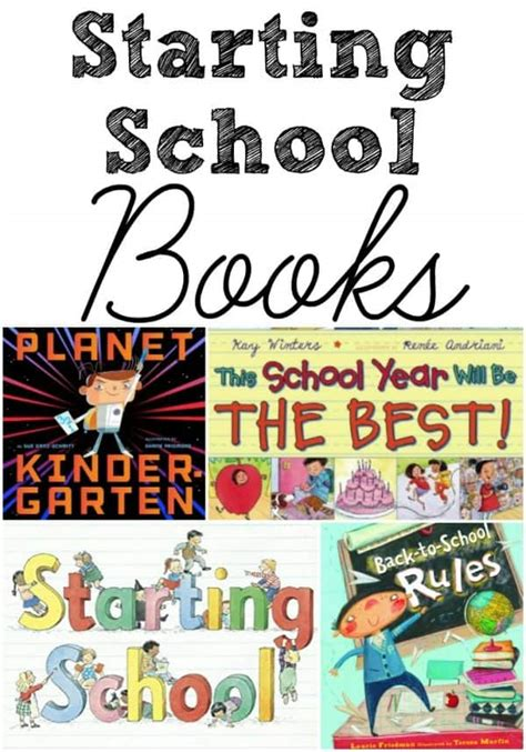 picture books about starting school starting school book list for preschoolers