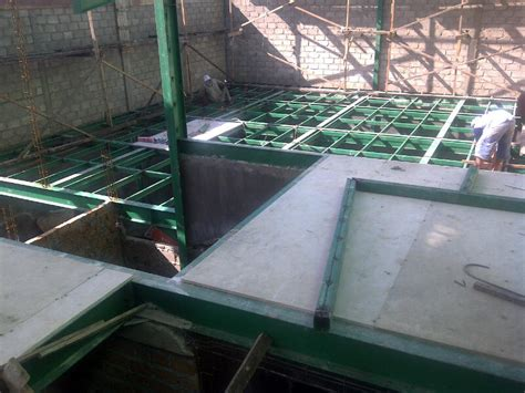 lantai gypsum studi bahan bangunan universitas diponegoro
