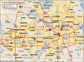 map of dallas fort worth travelsmaps