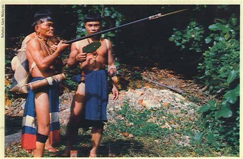 Ikat Kepala Tenun Dayak Kalimantan Ikd138 mengenal 7 rumpun suku dayak di pulau kalimantan