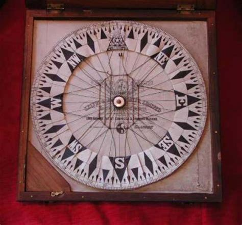 How To Make A Paper Compass - paper compass antique maritime props